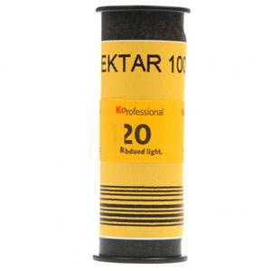Kodak Professional Ektar Color Negative Film ISO 100 120mm Size