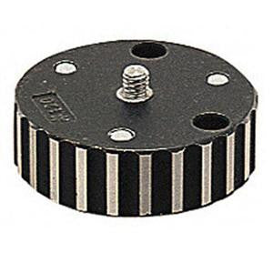 "Manfrotto 120 Adapter Plate converts Tripod 3/8"" to 1/4""-20 Mo"