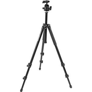 Manfrotto MK294A3A0RC2 3-Section Aluminum Tripod with QR Ballhead Maxi