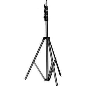 "Manfrotto 11' Basic Lightstand 5/8 Stud with 1/4""x20 Tip Black"