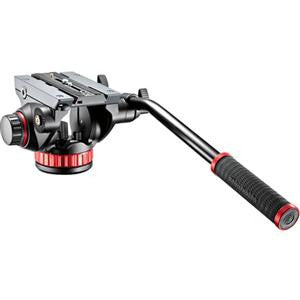 Manfrotto MVH502AH Pro Video Head with Quick-Release and Flat Base (3/