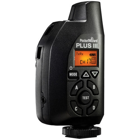 PocketWizard Plus III Transceiver (Black) - 6757