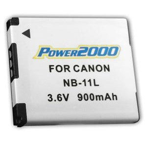 Power 2000 NB-11L Replacement Lithium-Ion Battery 3.6 volt 900mAh for