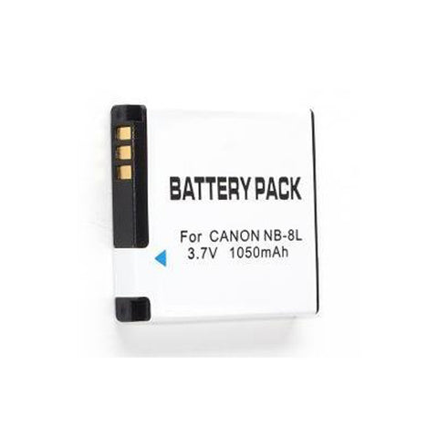 Power2000 NB-8L Replacement Lithium-Ion Battery 3.6 volt 1000mAh for C
