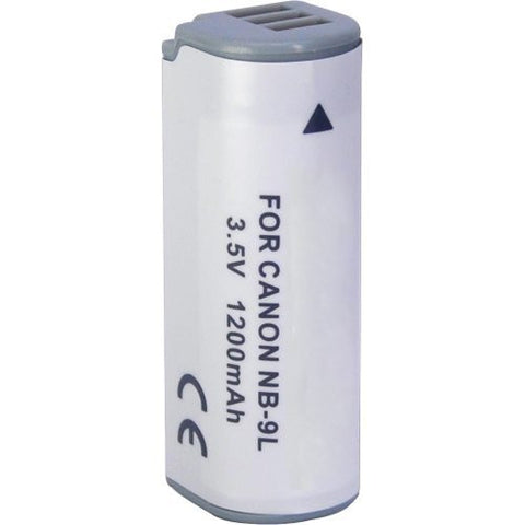 Power2000 NB-9L Replacement Lithium-Ion Battery 3.6 volt 1200mAh for C