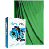 Savage Green Screen Basic Video Background Kit 10x12' Muslin Green