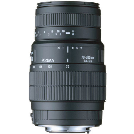 Sigma Zoom Telephoto 70-300mm f/4-5.6 DG Macro Autofocus Lens for Cano