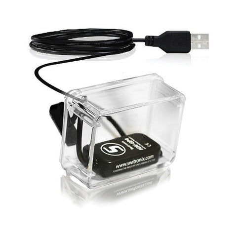 Switronix Battery Eliminator USB with Backdoor for GoPro HERO4 (10 ft)