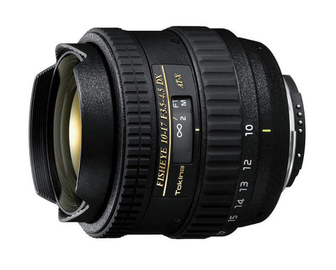 Tokina AT-X 107 AF DX 10-17mm f/3.5-4.5 Fisheye Zoom for Canon - TOK10