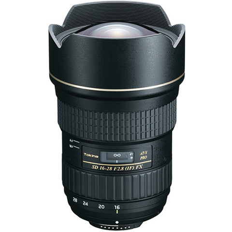 Tokina AT-X 16-28mm F2.8 Pro FX Lens for Canon - 5302
