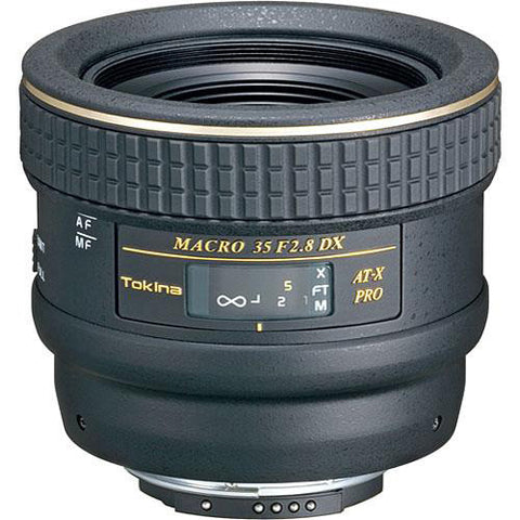 Tokina 35mm f/2.8 AT-X M35 Pro DX Macro Autofocus Lens for Canon EOS D