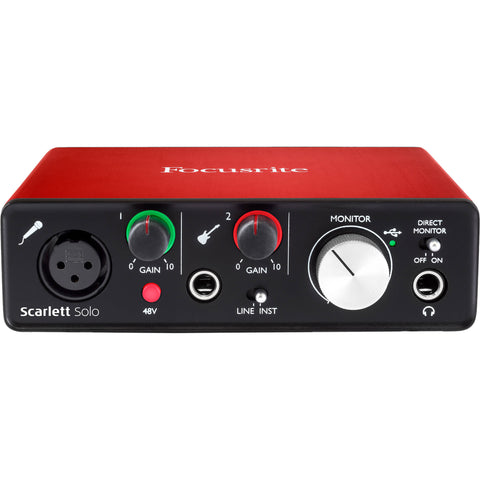 Copy of Focusrite Scarlett Solo USB Audio Interface (2nd Generation)