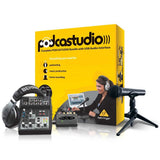 Behringer PODCASTUDIO USB - Complete Podcasting Bundle with USB/Audio Interface
