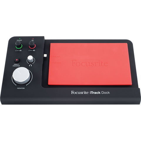 Focusrite iTrack Dock Professional Recording for iPad