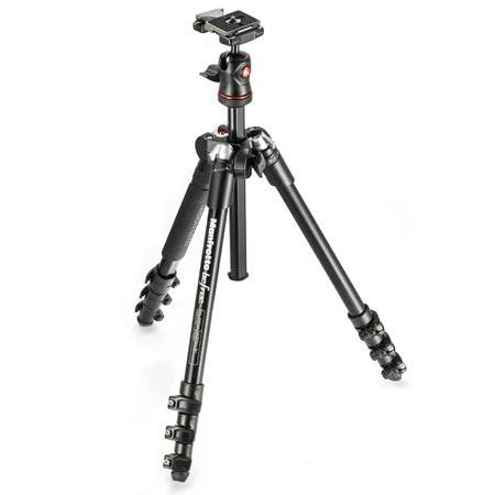Manfrotto MKBFRA4-BH BeFree Travel Tripod - 8655