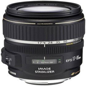 Canon Zoom Super Wide Angle EF-S 17-85mm f/4-5.6 IS USM Autofocus Lens