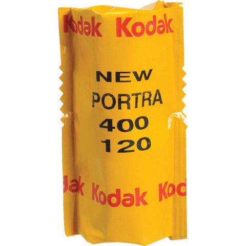 KODAK 120 PROFESSIONAL PORTRA 400 COLOR NEGATIVE FILM