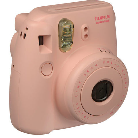 Fujifilm instax mini 8 Instant Film Camera (Pink) - 7615