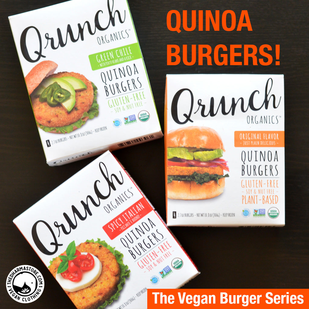 Looking for Quinoa Burgers at your Grocery Store?