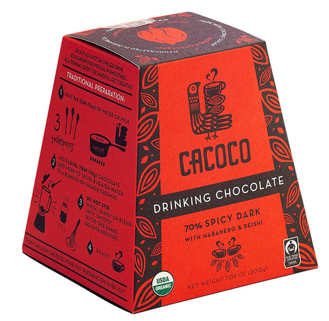 CACOCO 70% Spicy Dark Drinking Chocolate