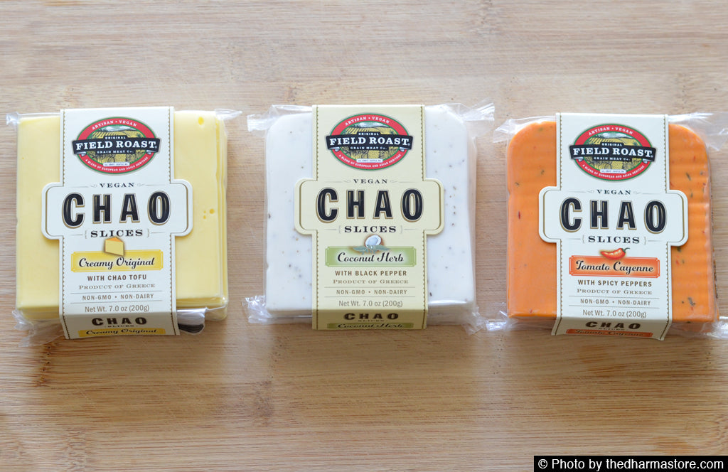 Vegan Cheese Slices - Field Roast Chao Vegan Cheese - The Dharma Store