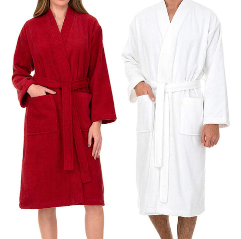 Luxury bathrobes
