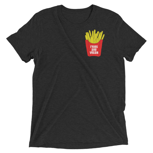 Fries are vegan - Vegan shirt by The Dharma Store