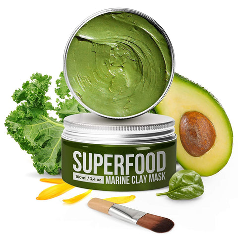Vegan Dead Sea Mud Mask with Avocado & Superfoods