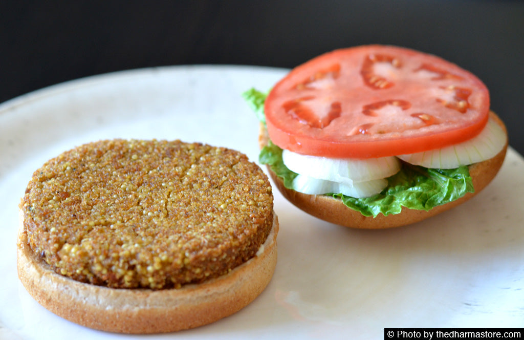 Qrunch Organics - Vegan Burger - Original