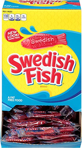 Swedish Fish vegan candy