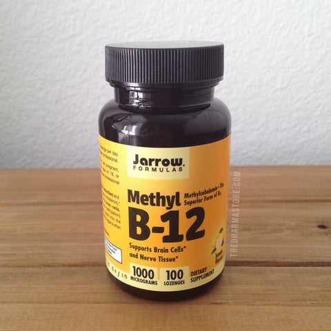 Jarrow Formulas Methyl-B12 1000 mcg