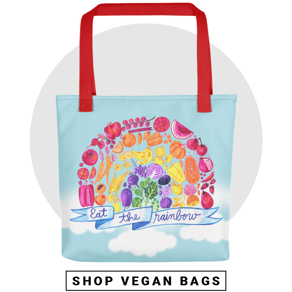 Vegan Bags - Vegan Tote Bags - Vegan Apparel by The Dharma Store