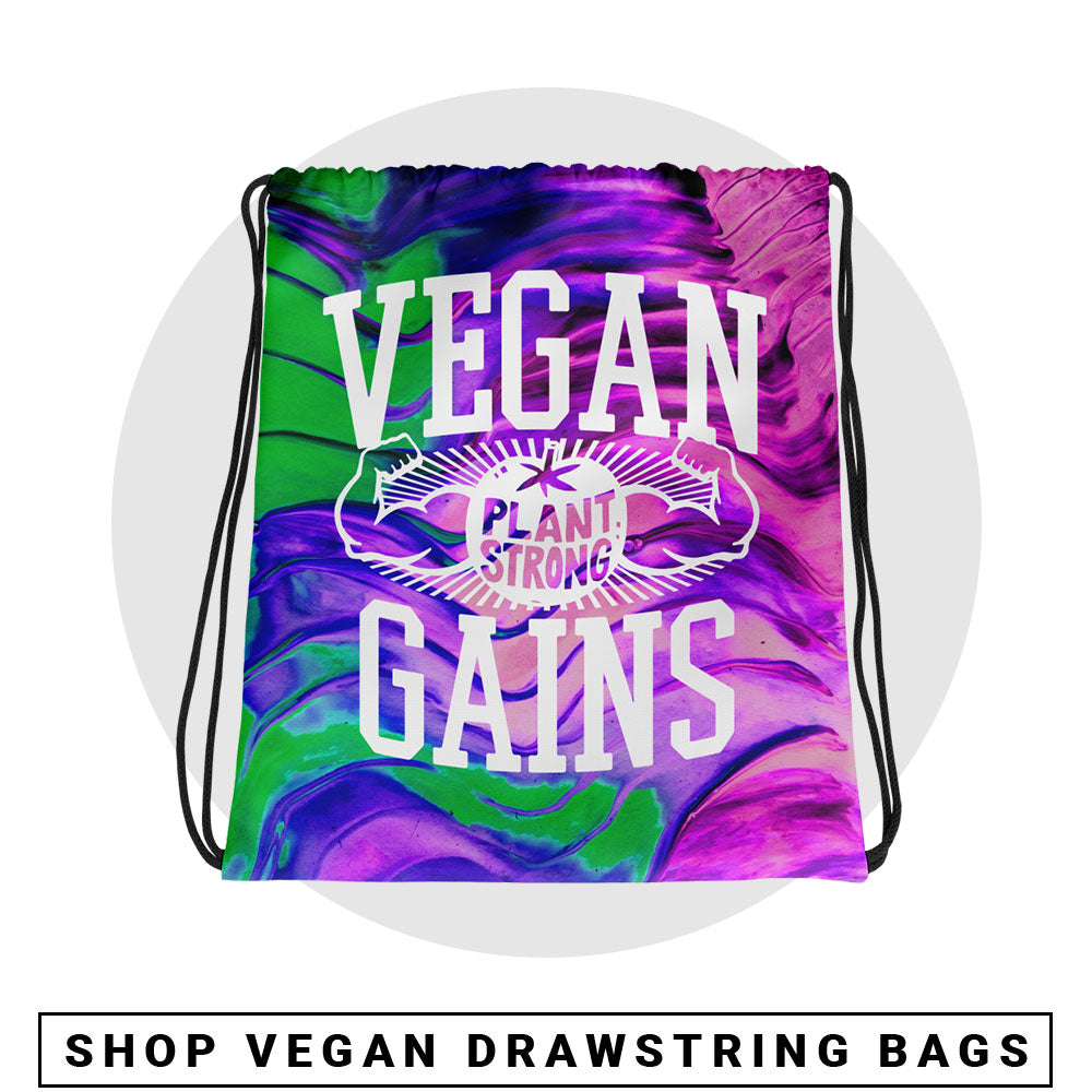 Vegan Bags - Vegan Drawstring Bags - Vegan Apparel by The Dharma Store