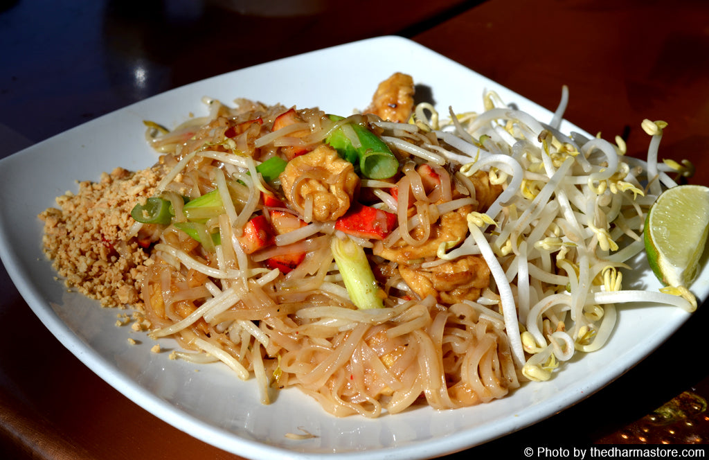 Vegan Restaurant Washington D.C. - Mai Thai - Vegan Pad Thai Tofu