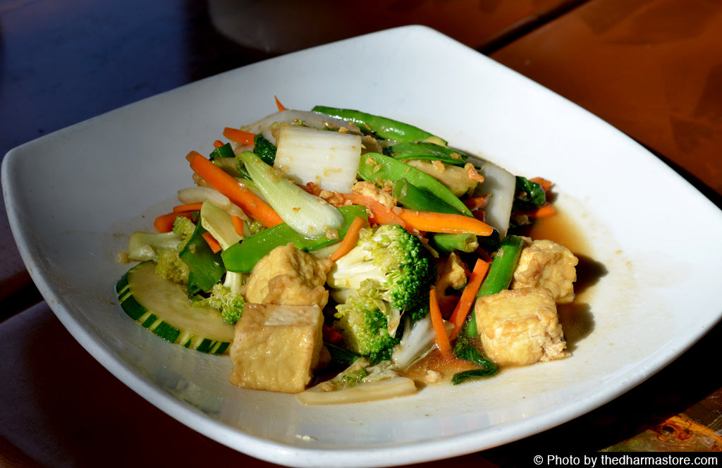 Vegan Restaurant Washington D.C. - Mai Thai - Vegan Kaw Poe Jae