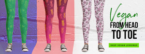 Vegan Leggings - Vegan Clothing by The Dharma Store