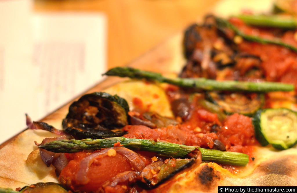 Vegan Restaurant Washington D.C. - Pinstripes - Vegan Flatbread