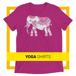 Vegan yoga shirts - Vegan yoga clothing by The Dharma Store