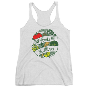 Vegan Tank Top - Eat Foods That Are Alive