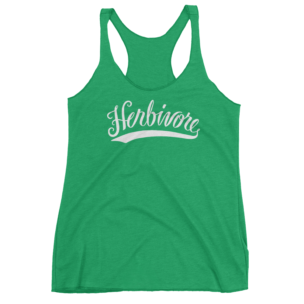 Vegan Tank Top - Herbivore - Envy (Green)