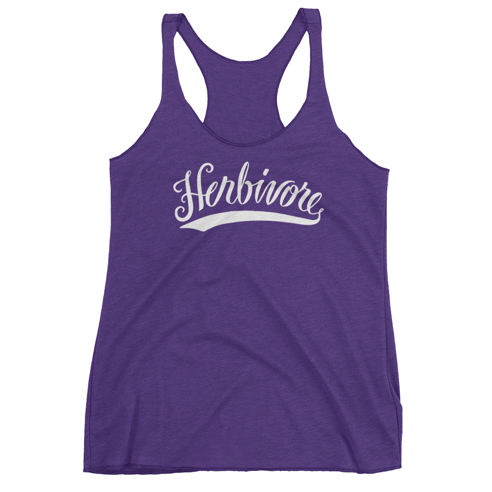 Vegan Tank Top - Herbivore - Purple Rush