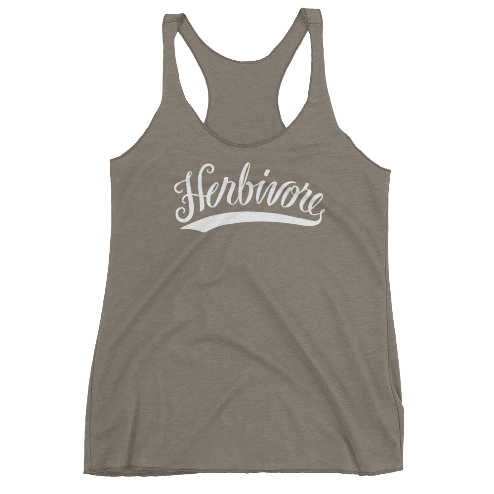 Vegan Tank Top - Herbivore - Venetian Grey