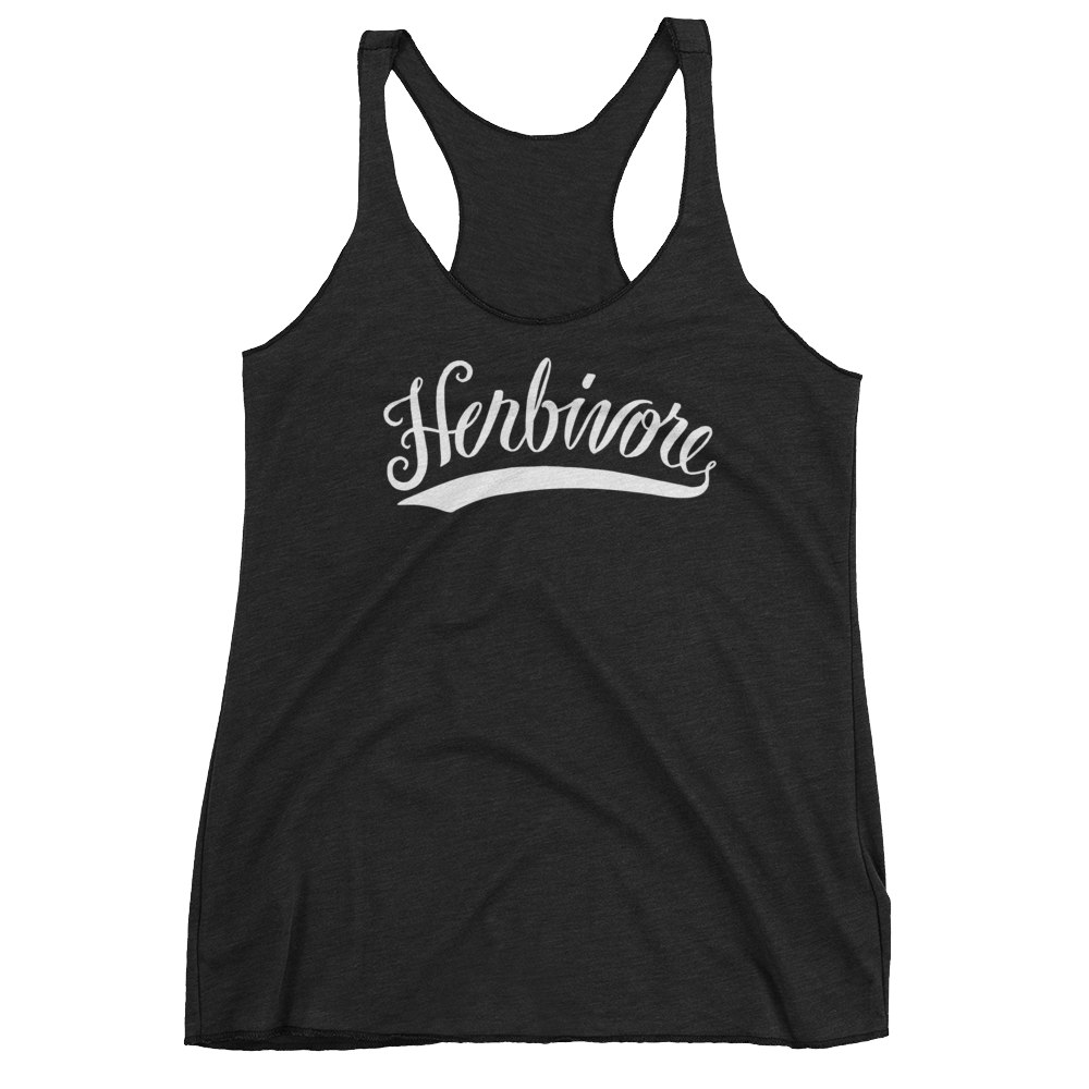 Vegan Tank Top - Herbivore - Vintage Black
