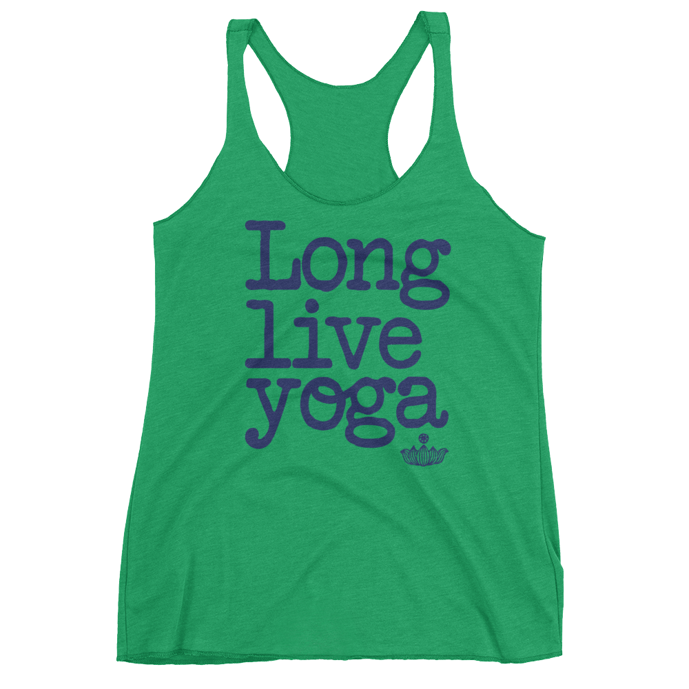 Vegan Yoga Tank Top - Long Live Yoga  - Envy
