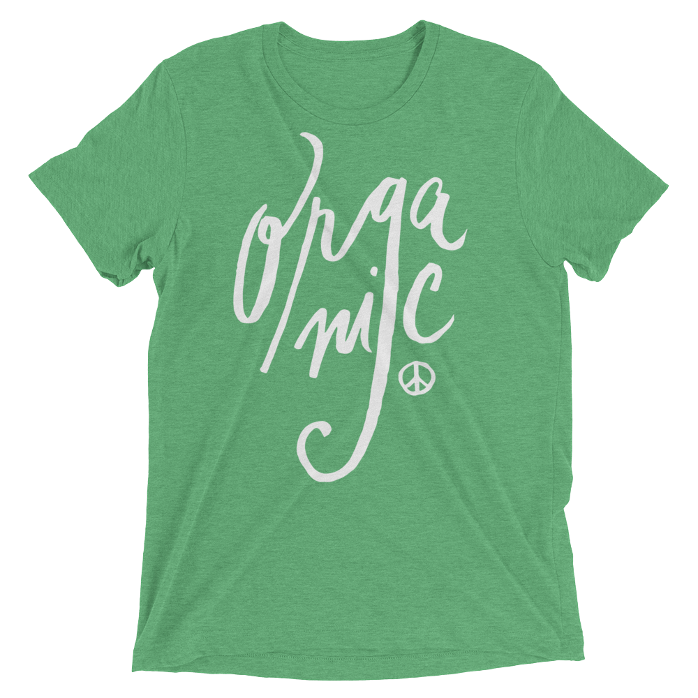 Vegan T-Shirt - Organic shirt - Green
