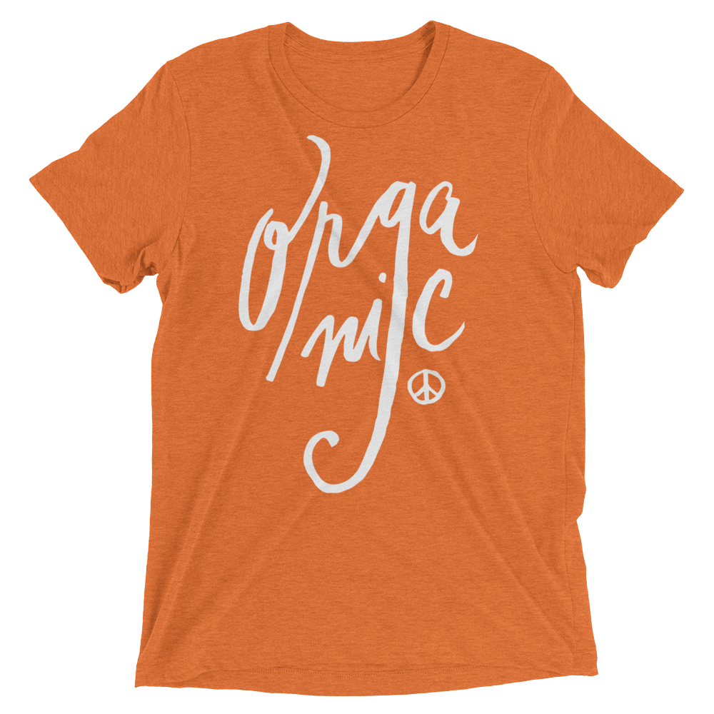 Vegan T-Shirt - Organic shirt - Orange