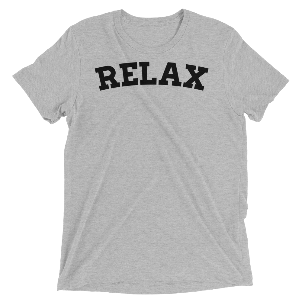 Vegan Yoga Shirt - Relax - Athletic Grey