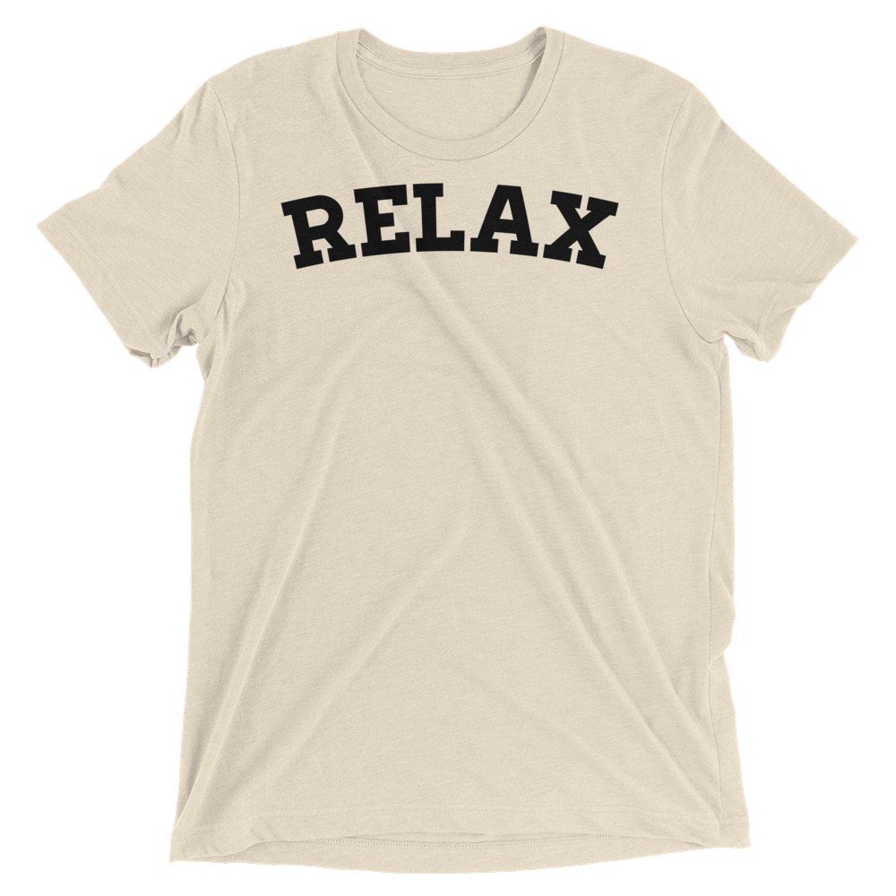 Vegan Yoga Shirt - Relax - Oatmeal
