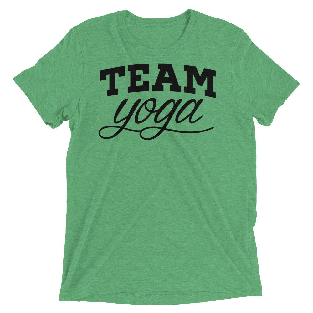 Vegan Yoga Shirt - Team Yoga - Green