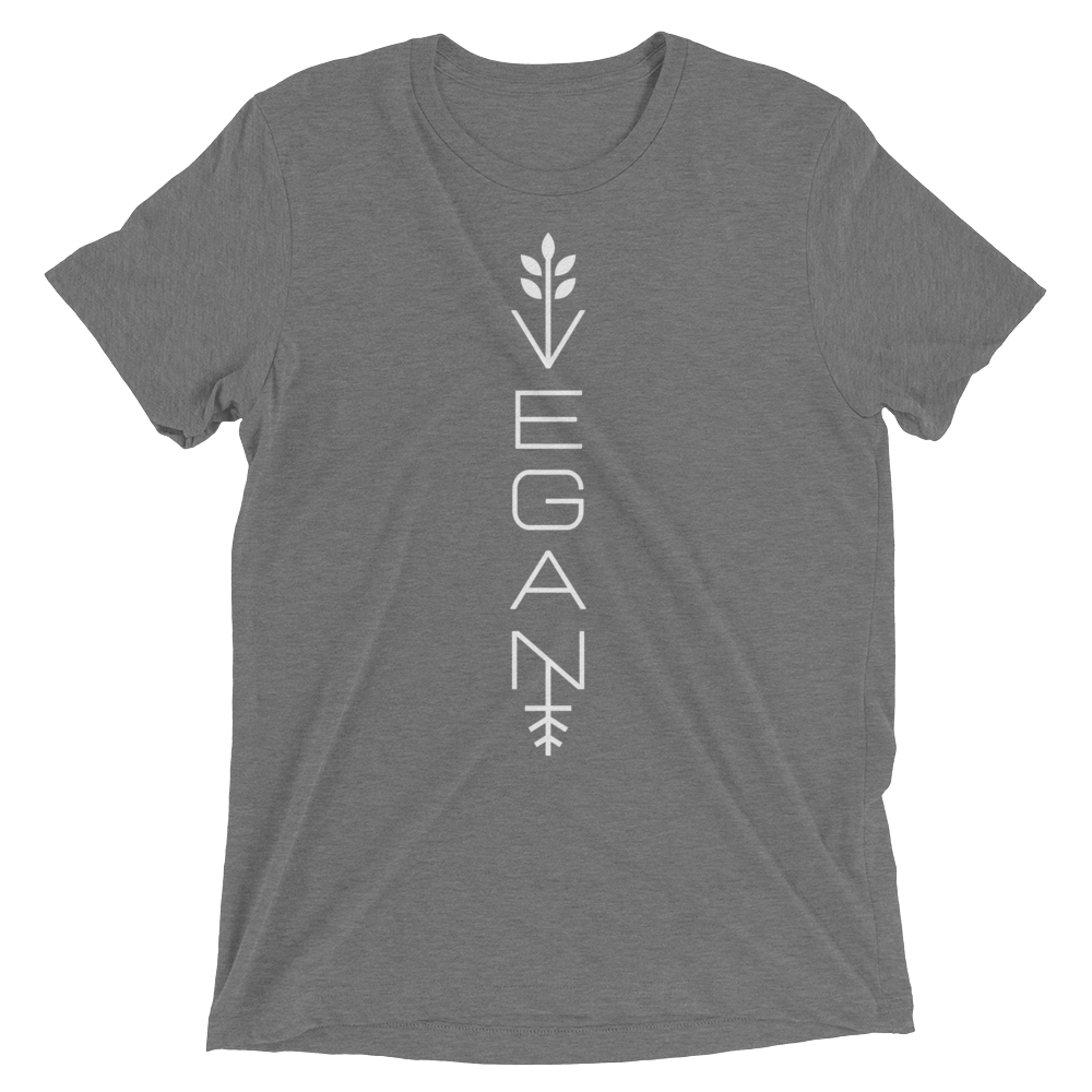 Vegan T-Shirt - Modern vegan - Grey